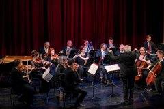 Neujahrskonzert im Salzburger Landestheater dirigiert von Baldur Pauss