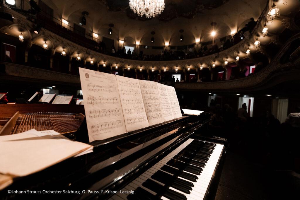 Neujahrskonzert am 01.01.2020 im Salzburger Landestheater